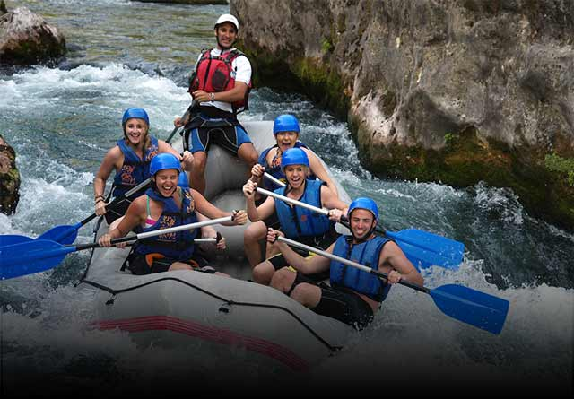 Rafting on Cetina & Krka waterfalls -Splitlicious
