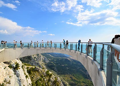 Skywalk Biokovo & Rafting Full-Day Activity