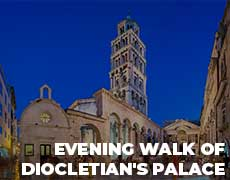 Evening Walk Of Diocletian's Palace