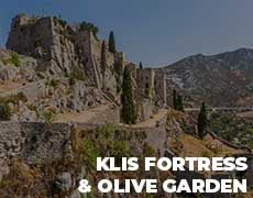 Klis fortress & Olive garden - Culinary excursion