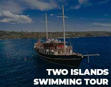 2 islands swimming tour