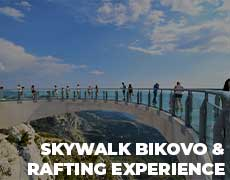 Skywalk Bikovo & Rafting Experience