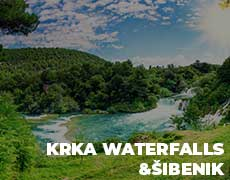 Krka Waterfalls & Šibenik Private Tour